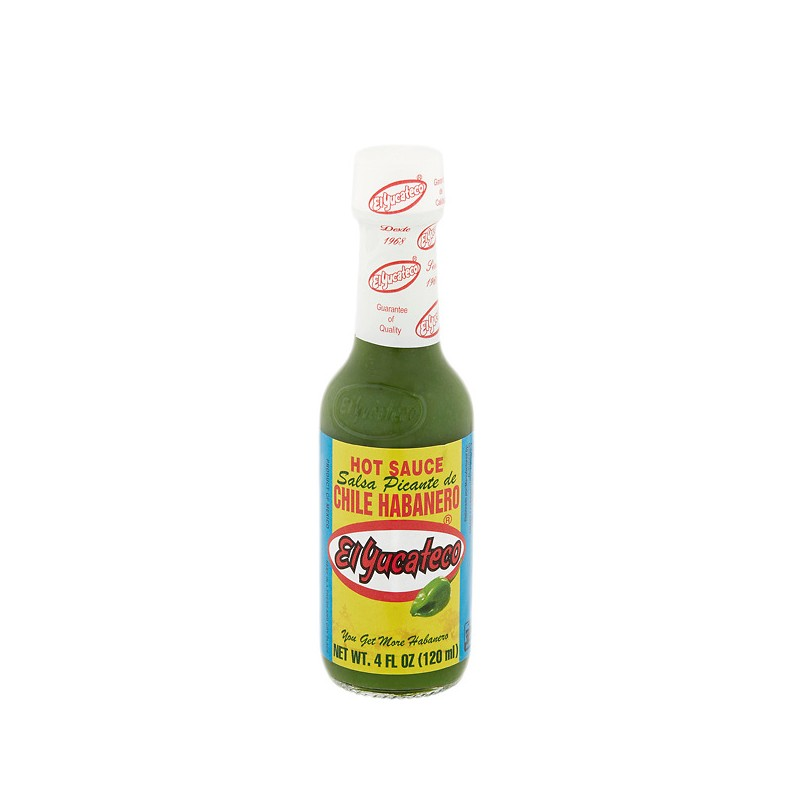 Salsa habanero verde yucateco