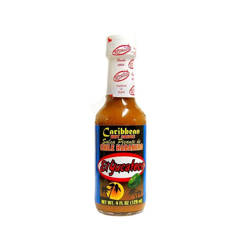 Salsa habanero caribeño yucateco