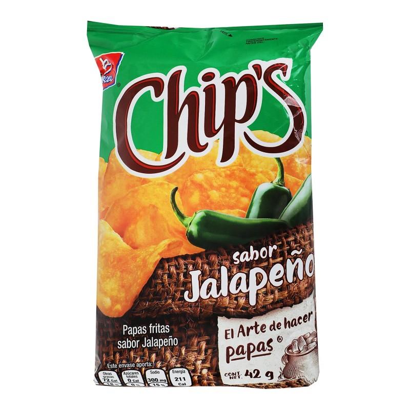 Chips Jalapeño Barcel 45grs