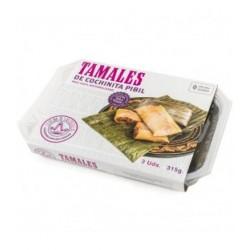 Tamales de cochinita pibil La Reina de las Tortillas