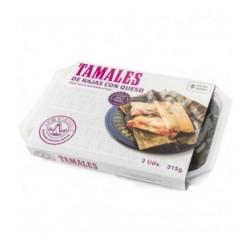 Tamales de rajas con queso La Reina de las Tortillas