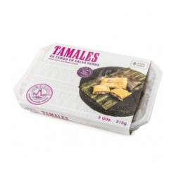 Tamales de cerdo en salsa verde La Reina de las Tortillas