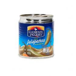 Chiles Jalapeños en Escabeche  Clemente Jackes de 220gr