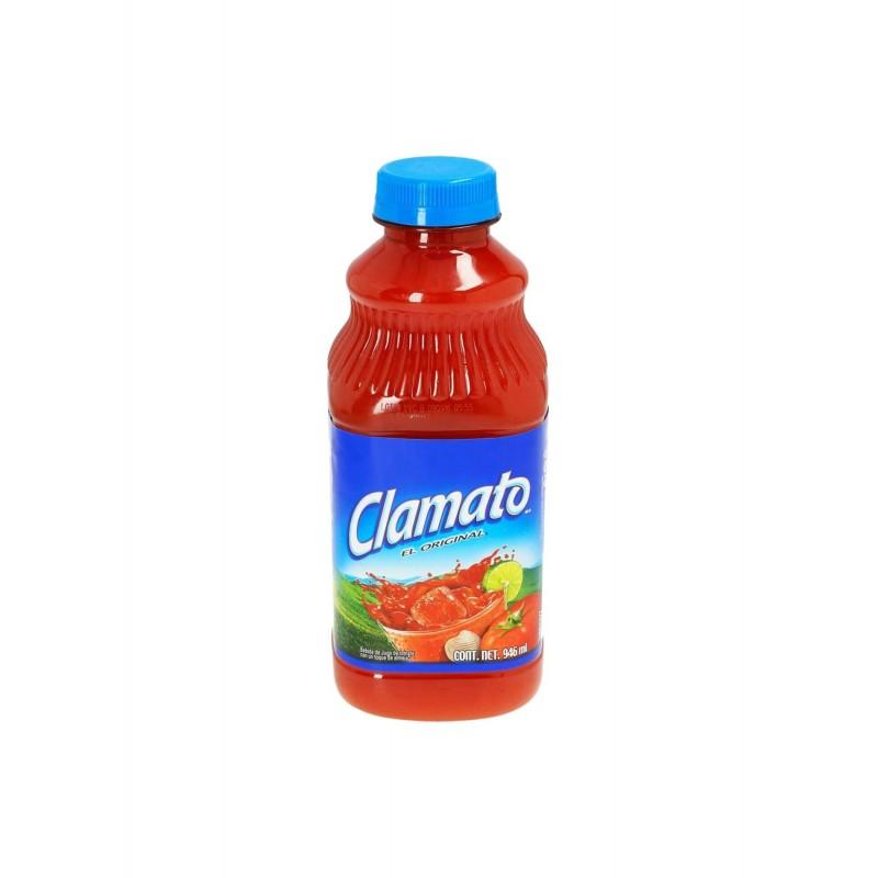 Jugo de tomate con almeja Clamato 946ml