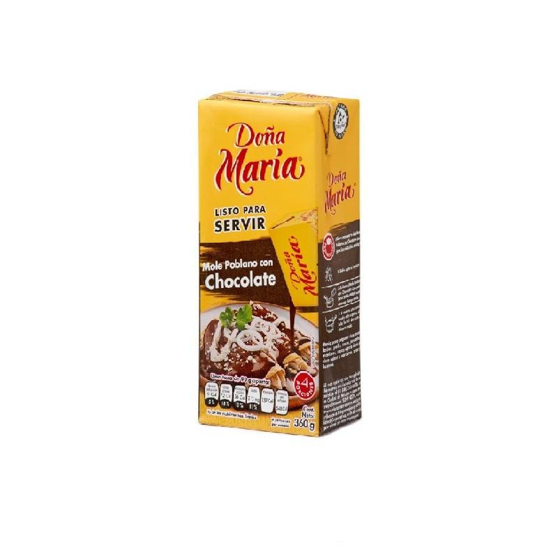 Mole poblano con chocolate 360g Doña María