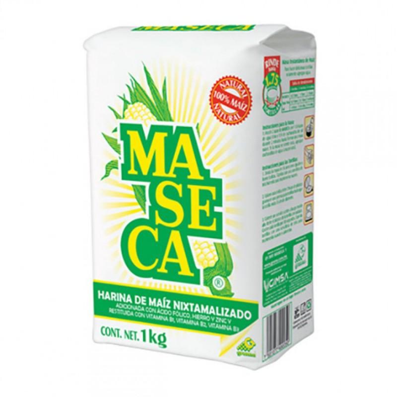 Harina maíz blanca Maseca